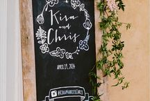 Wedding Instagram Board