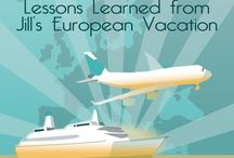 Nearly Free Travel / Lesson's Learned from Jill's European Vacation. How we traveled nearly free - airfare, hotels and cruise with points, miles and trades.