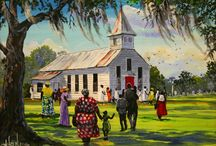 SON-day  Morning ..... CHURCH!!!! / Church Our Foundation and Our Rich Southern Cultural Herotage...Old Fashioned Preachin Prayer, Praise and Worship. Come on with Me I Need  Just  a Little More Jesus, How About You?? / by Sophisticated Lady
