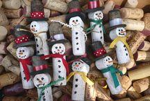 Wine Cork Wonders / Using up all my wine corks...