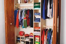 Home - Office Turned Closet / by Jessica Arnold