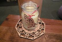 Candles and candleholders / I love all about candles and have plenty