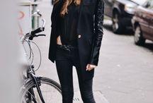 BLACK / 'Women who wear black, live colourful lives'