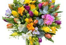 Kytice zo živých kvetov