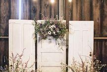 Wedding Backdrops/set up