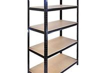 Metal Storage Rack Adjustable Garage Shelving Steel Organizer Home Heavy Duty