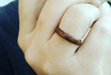 Wood Rings n Things / The wood rings that I'm working on and inspiration for them.