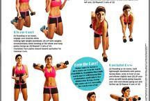 esercizi fisici