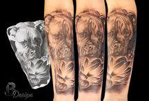 My tattoo work / Tattoos