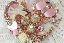 SHABBY SWEET HEARTS  / by ✿ Joëlle Quelenn ✿