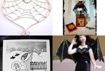 Halloween Artist Bazaar Treasuries  / by Jynxx