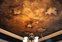Decorative Ceilings, Walls and Murals / Texture, color, patina have replaced boring beige.......and I am not sorry! / by Decorating Den Interiors Team Tatera