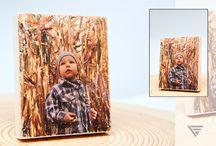 Zdjęcia na drewnie