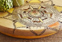 Pyrography or water color / by Amanda Ormsby