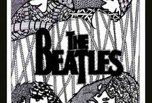 Zentangle - the Beatles
