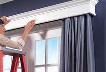 Curtain rod ideas