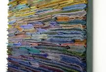Textile Art / Fabric, textile, installations, / by Gianni Fontana