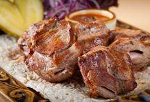 шашлыки или мясо