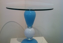 Blown glass. Fused glass