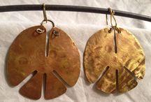 Collezione Orecchini Etichic / Orecchini realizzati a mano con metalli riciclati