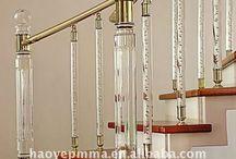 Balustrade cristal