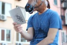 MASKS / MASKELER / At Kafası Maskesi Evde ! Okulda ! İşte ! Metrobüste ! Direnişte ! ;)  Horse Head Mask At Home !  At School !  At Work !  At Resistance ! ;)  #horse #head #mask #home #work #funny #party #partymask