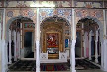 """Gurgaon Getaways - Mandawa / This town of Mandawa is literally an """"open art gallery"""" and is located in Jhunjhunu district of Rajasthan in India – a part of Shekhawati region."""