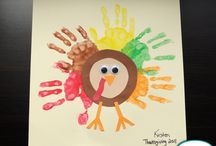 Thanksgiving crafts / by Angela Nichols