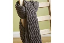 Knitting - Rib Scarf