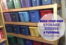 Storage/Organization / by Connie Stilts