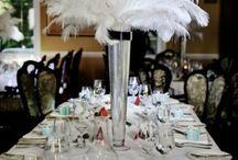 Gatsby Ballroom Centerpieces