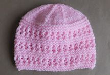 Baby knitted hats