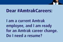 Dear #AmtrakCareers - Ask us a question! / by Amtrak Careers and Job Opportunities