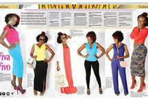 the Nairobian Newspaper Styling Column / Connie Aluoch Styling Management styles different looks for the Nairobian Newspaper weekly fashion column.