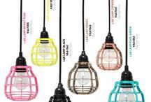 Industrialne Lampy / Inspiracje i aranżacje z loftowymi, przemysłowymi i industrialnymi lampami marek HK Living, Zuiver i it's About RoMi