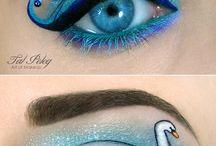 maquillaje fantacia ,bocetos etc / by Ame Jali