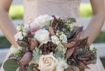 Brown, sage & Ivory / Brown, sage green & ivory wedding theme with natural confetti ideas from The confetti cone company www.confetti-cones.co.uk