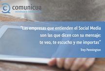 Social Media Quotes / Las mejores frases sobre #socialmedia y #redessociales