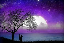 The moon and the stars  ♡°♡°♡°♡