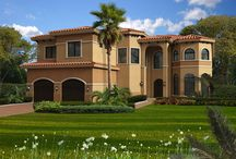Architect House Plans - Miami - Fort Lauderdale - Boca Raton Home Plans / Vision and a quest for excellence are the true building blocks for a prestigious home design, and are the primary characteristics of Architect House Plans.