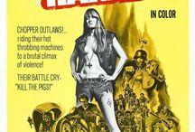 Cine y motos / Posters de películas en las que las motos o los motoristas son los protagonistas.
