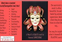 Narcissism / A Narcissist has many masks!