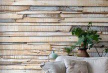 Sciana drewniana