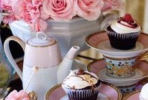 Cake and tea♡
