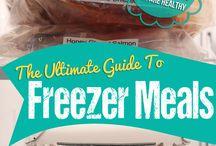 Freezer meals / by Summer Haught