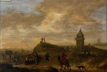 Werkfoto's - Zeestukken / Restauratie van schilderijen - 17de / 18de / 19de eeuwse zeestukken