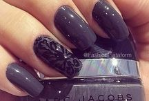 .Perfect nails.