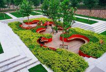 plazas verdes