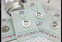 Wedded Bliss / wedding, wedding ideas, wedding favors, wedding jewelry, gifts for the wedding party