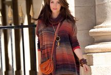 PONCHO / Tendance ponchos tricotés, pour la femme chic et branchée.